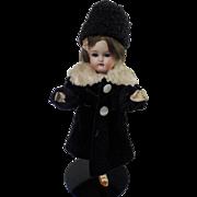 """7"""" Antique German Bisque Head K*R Doll"""