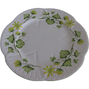 Shelley Fine Bone China Celandine Luncheon Plate 8 Inches