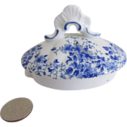 Shelley Fine Bone China Dainty Blue Teapot Lid