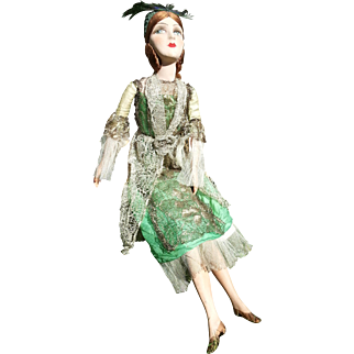 "French Boudoir Doll, 1910-1920, 30"" (76cm)"