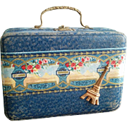 "Antique Suitcase for a 16-18"" Doll"