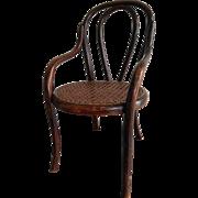 Antique Thonet Bentwood Designed hair (circa 1900-1915)