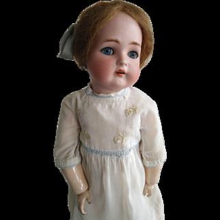 "Antique 22"" Simon&Halbig K*R W. German Bisque Doll 55 (circa 1900)"