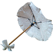 "Lovely Antique Umbrella/Parasol 10 1/2"" (26,5 cm)"