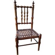 Antique French Doll's Chair