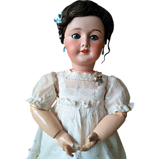 "ALL ORIGINAL UNIS France Doll 23"" mold 301 (approximately 60 cm)"
