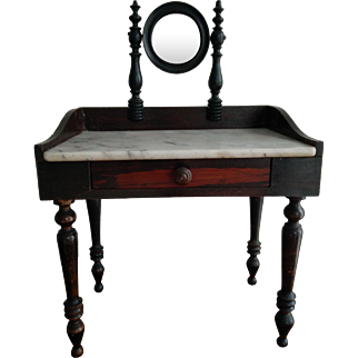 Antique French Toilette Table