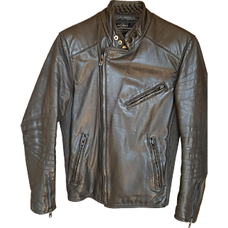 Hein Gericke Harley Davidson Black Leather Jacket