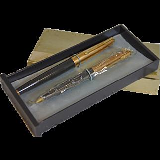 Vintage Parker 61 Heirloom Pen and Pencil Set