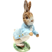 Vintage Beatrix Potter's Peter Rabbit Figurine By Beswick England
