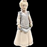 """Cybis """"Emily Ann"""" Porcelain Girl Figurine"""