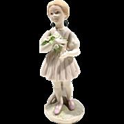 "Cybis ""HEIDI"" Porcelain Figurine"