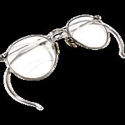 Antique 12K Gold Filled Art Deco Style Eyeglasses