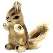 Estate STEIFF Possy Squirrel Stuffed Animal Toy