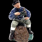 Royal Doulton Porcelain Fisherman Figurine Lobster Man