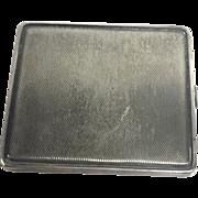 Antique European 850 Silver Cigarette Case