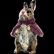 Austria Cold Painted Bronze Miniature Beatrix Potter Rabbit