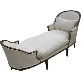 French 'Chaise Longue' Circa 1900