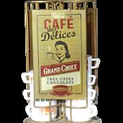 Vintage Coffee Cup Dispenser Circa 1950