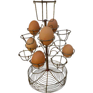 French Vintage 'Bar Top' Egg Stand