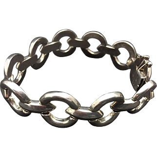 Italy 925 Sterling Bracelet - Circles