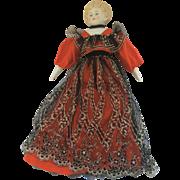 """Exquisite German Parian 18"""" Doll c1850 to 1890 Original Clothing"""