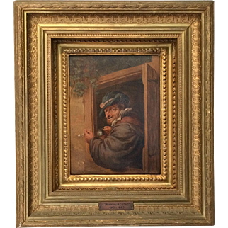 Adriaen van Ostade - The Pipe Smoker