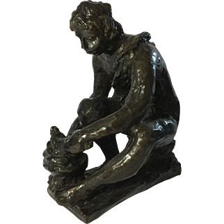 Pierre Auguste Renoir Bronze Sculpture - Le petit Forgeron