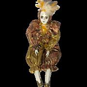Vintage Pierrot Doll
