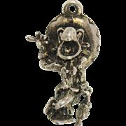 1940's Disney The Three Caballeros José Carioca Sterling Silver Charm