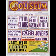 1928 London Coliseum - Original Vintage Poster