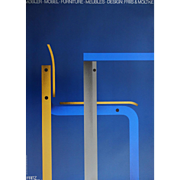 1984 Danish Furniture Advertisement - Original Vintage Poster