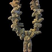 Natural Agate Hand Carved Fetish Necklace