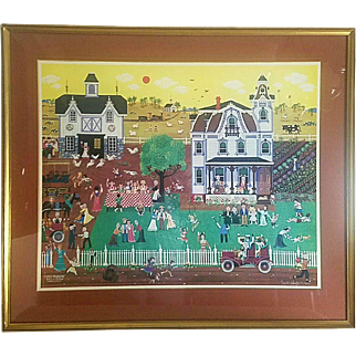 Family Reunion by Bill W.  Dodge early 1980's