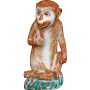 Porcelain Monkey Statue