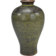 Chinese Teadust Melping Vase