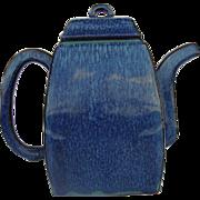 Yixing Teapot with Robins Egg Glaze