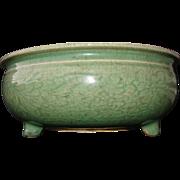 Longquan Celadon Tripod Censer Bowl