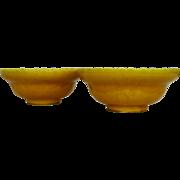 Chinese Yellow Glazed Bowls