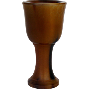 Chinese Carved Stem Cup