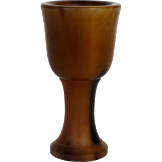 Carved Stem Cup