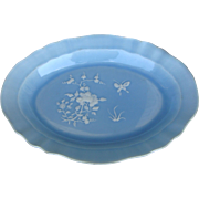 Chinese Clair de lune Glazed Platter