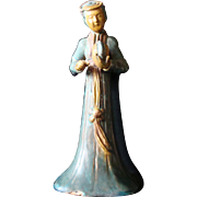 Chinese Pottery Lady of the Court Figure