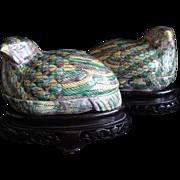 Chinese Quail Box (Pair)