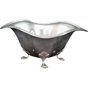 Vintage Sterling Silver Footed Bowl