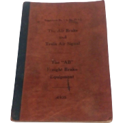 1935 Pennsylvania Railroad Air Brakes Manual