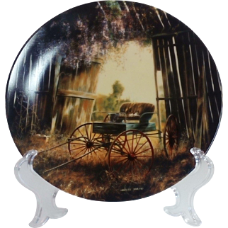 Country Nostalgia Collectors' Plate 'The Spring Buggy'
