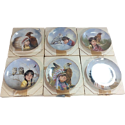 'The Proud Young Spirits' by Gregory Perillo Collector Plate Set