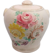 1930's Ransburg Hand painted Cookie Jar