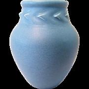 Antique 1913 Rookwood Pottery Matte Blue Vase